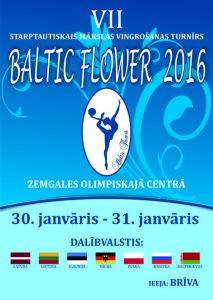 """Mākslas vingrošana """"BALTIC FLOWER 2016"""""""