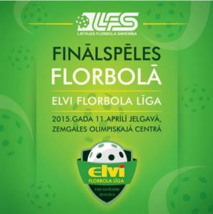 Latvijas čempionāta florbolā FINĀLS