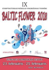 """Mākslas vingrošana """"BALTIC FLOWER 2018"""""""