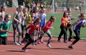 Jelgavas skolēnu spartakiāde vieglatlētikā