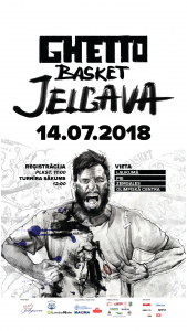 """Ghetto Basket"" strītbola sacensības un FIBA 3×3 World Tour Challenger atlases turnīrs"