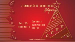 Ziemassvētku gadatirgus Jelgavā