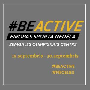 Eiropas Sporta nedēļa Zemgales Olimpiskajā centrā >>